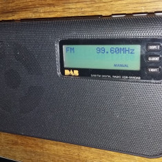 RADIO SONY XDR-S55 DAB/FM DIGITAL .FUNCTIONEAZA .