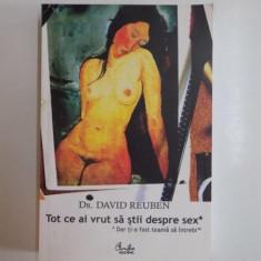 TOT CE AI VRUT SA STII DESPRE SEX de DAVID REUBEN, 1999