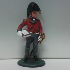 Soldat din plumb - OFFICER ROYAL ENGINEERS 1813 scara 1:32, peste 14 ani, Unisex