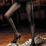 Ciorapi - Baci Ciorapi Negri cu Filigran 999 - Lenjerie sexy femei
