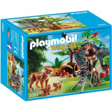 Familie de rasi si cameraman Playmobil