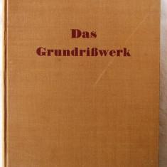 DAS GRUNDRISSWERK. 1400 Grundrisse ausgefuhrter Bauten jeder Art, 1941 - Carte Arhitectura
