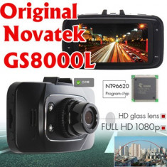 CAMERA AUTO DVR BLACK BOX NOVATEK GS8000L FULLHD - Camera video auto Novatek, 32GB, Wide, Senzor imagine MP CMOS: 12, microUSB