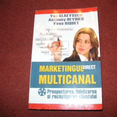 Marketingul direct multicanal - Yan Claeyssen A. Deydier Y. Riquet - Carte de vanzari
