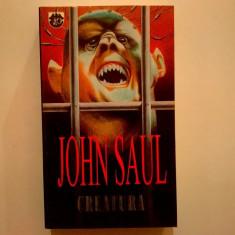 John Saul - Creatura - Carte politiste