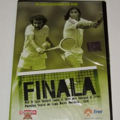 DVD tenis - povestea finalei de CUPA DAVIS ROMANIA - SUA - DVD fotbal