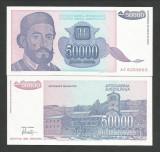 IUGOSLAVIA  50000   50.000  DINARI   1993  UNC  [1]  P-130  ,  necirculata