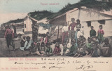 SALUTARI DIN CONSTANTA  TIPURI ORIENTALE  CLASICA  CIRC.  1904 EDIT. T. G. DABO, Circulata, Printata