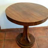 Cumpara ieftin MASA ROTUNDA de SALON - BIEDERMEIER - sec. 19 - lemn de nuc