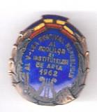 (7) INSIGNA AL V-LEA FESTIVAL REPUBLICAN AL SCOLILOR SI INST. DE ARTA 1962