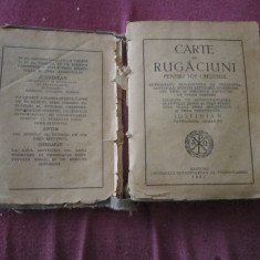 Carte de rugaciuni rara anul 1951 480 pagini editura ungrovlahiei completa c5 - Carti bisericesti