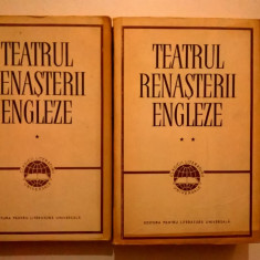 Teatrul Renasterii engleze {2 volume}