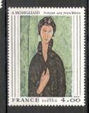 Franta.1980 Pictura  SF.594.19, Nestampilat