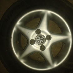 Jante aliaj - Janta aliaj Volkswagen, Diametru: 13, Latime janta: 7, Numar prezoane: 4