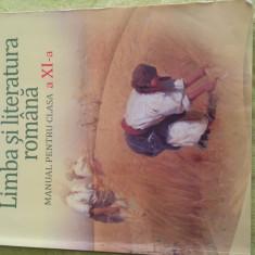 Limba si literatura romana - Manual scolar art, Clasa 11