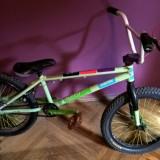 """BMX Eastern 20"""" - Bicicleta BMX Eastern, Numar viteze: 1, Otel, Verde"""