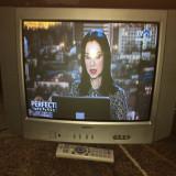 Televizor color CRT Toshiba 21S23E2 cu telecomanda originala in stare perfecta - Televizor CRT