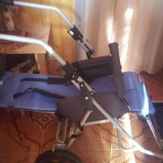 Carucior manual pentru handicap cu rotile moderne