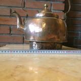 Foarte vechi Ceainic din alama - Metal/Fonta