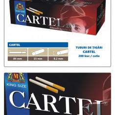 CARTEL 200 - Pachet 10 cutii tuburi tigari pentru injectat tutun x 200 buc.