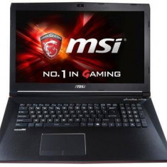 Laptop MSI GP72 2QE 043XHU, negru