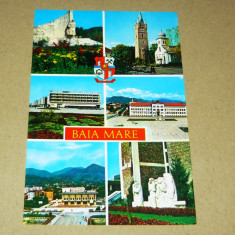 Baia Mare - Maramures - vederi - heraldica - 2+1 gratis - RBK17843 - Carte Postala Transilvania dupa 1918, Necirculata, Fotografie