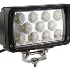 Proiector LED Auto Offroad 33W/12V-24V, 2420 Lumeni, Dreptunghiular, Spot Beam 30 Grade - Proiectoare tuning