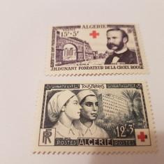 Franta/colonii/algeria 1954 crucea rosie - Timbre straine, Nestampilat