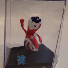 Figurina London 2012 Olympic Games Collectors Mascota Wenlock LOCOG SIGILATA, 5-6 ani