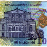 2. Bancnota 1000000 lei 2003 2004 sigla 04 polimer - Bancnota romaneasca