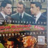 Hitchcock Funia si Necazuri cu Harry 2 filme pe un dvd, Romana