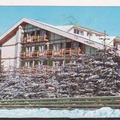 Bnk cp Predeal - Hotel Predeal - circulata - Rombach - Carte Postala Transilvania dupa 1918, Printata