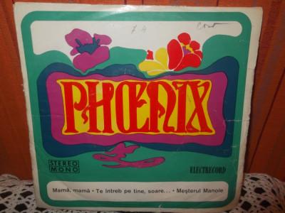 """-Y- PHOENIX DISC FORMAT MIC 7 """" DISC VINIL LP foto"""