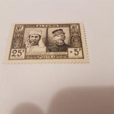 Franta/colonii/algeria 1950 aniversari, Nestampilat