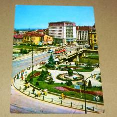 Oradea - Bihor - vedere din centru - 2+1 gratis - RBK17856 - Carte Postala Transilvania dupa 1918, Necirculata, Fotografie