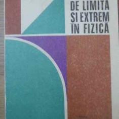 Probleme De Limita Si Extrem In Fizica - Romulus Sfichi, 390256 - Carte Fizica