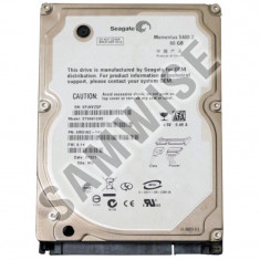 Hard Disk laptop notebook 60GB Seagate Momentus SATA Buffer 8MB ***GARANTIE*** - HDD laptop Seagate, 41-80 GB, Rotatii: 5400