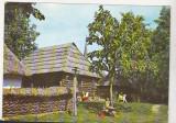 Bnk cp Bucuresti - Muzeul Satului - circulata - marca fixa, Printata