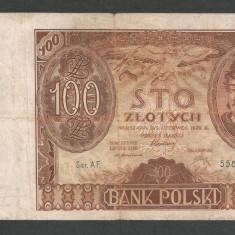 POLONIA 100 ZLOTI ZLOTYCH 1932 [19] P-74a - bancnota europa