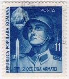 Romania 1951, Ziua Armatei, LP 289, stampilat