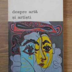 Despre Arta Si Artisti - Jean Gimpel, 390065 - Album Arta