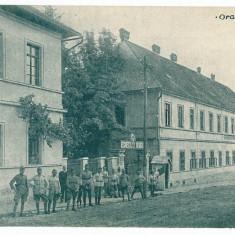 748 - Caras Severin, ORAVITA, Military, cazarma - old postcard - unused - Carte Postala Banat 1904-1918, Necirculata, Printata