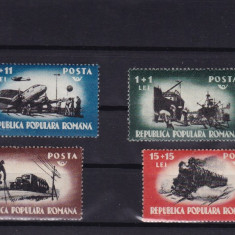 ROMANIA 1948, LP 245, MUNCA IN COMUNICATII SERIE MNH - Timbre Romania, Nestampilat