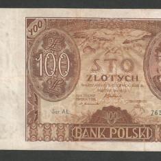 POLONIA 100 ZLOTI ZLOTYCH 1932 [1] P-74a, XF - bancnota europa