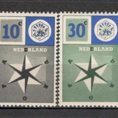 Olanda.1957 EUROPA SN.275 - Timbre straine, Nestampilat