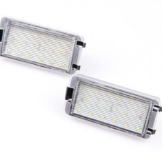 Lampi numar led SEAT LEON, IBIZA, CORDOBA, ALTEA - Led auto NSSC Lighting