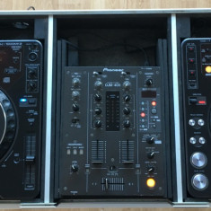 Set DJ - Playere Pioneer CDJ1000MK2, 1x mixer Pioneer DJM 400, case RoadReady - CD Player DJ