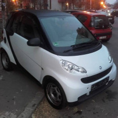 Smart fortwo 0.8 CDI pure 2007 CP:33 kW / 45 HP, Motorina/Diesel, 163000 km, 800 cmc
