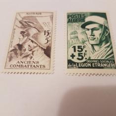 Franta/colonii/algeria 1954 razboi - Timbre straine, Nestampilat