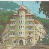Bnk cp Baile Herculane - Hotel Cerna - circulata - marca fixa - Carte Postala Banat dupa 1918, Printata